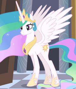 Princess Celestia ID S4E01