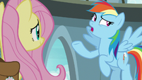 "Rainbow Dash ""Daring Do's biggest fan"" S9E21"