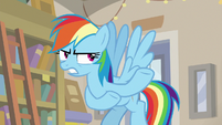 "Rainbow Dash ""they're off to Tenochtitlan"" S9E21"