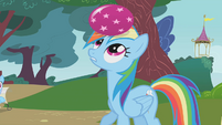 Rainbow Dash loses count S1E07