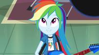 Rainbow Dash singing -the future's looking up- EG2