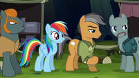 Rainbow happy to see Dr. Caballeron S6E13