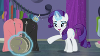 "Rarity ""nothing but helpful"" S8E4"