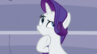 Rarity thinks about it S5E15