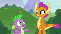 "Spike ""how to be a real dragon"" S8E24"