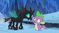 Spike --that would be from the royal Crystalling-- S6E16