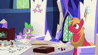 Spike listing several character classes S6E17