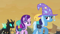 Starlight --weren't going to be able to use magic-- S6E25