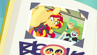 Sunset Shimmer's -Best Meanie- yearbook photo EGFF
