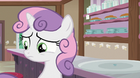 Sweetie Belle doesn't want to disappoint Rarity S7E6