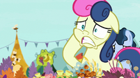 Sweetie Drops looking very distressed S7E19