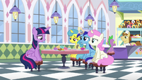 Twilight Sparkle says oh S5E12