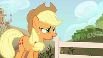 "Applejack ""are y'all thinkin' what I'm thinkin'"" S4E09"