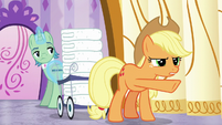 Applejack --you need to make more steam-- S6E10