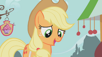 Applejack encouraging S1E12