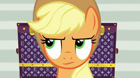 Applejack rolling her eyes S5E16
