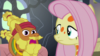 "Cattail ""those flash bee critters are tricky"" S7E20"
