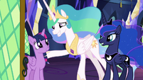 Celestia and Luna thanking Twilight S9E13