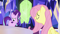 Fluttershy --they'd be happy to see you-- S6E25