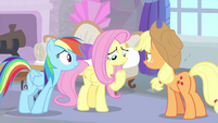 Fluttershy thinking back MLPS3