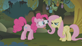 Pinkie Pie Fluttershy Evil Enchantress bulging eyes S1E09.png