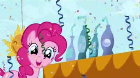 Pinkie Pie in Greek Grand Galloping Gala - My Little Pony Friendship is Magic