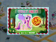 Princess Cadance MLP game promo
