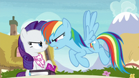 "Rainbow Dash ""put me to sleep!"" S8E17"