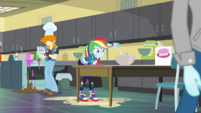 Rainbow Dash in home ec class EGDS37
