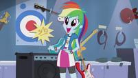 Rainbow Dash wide eyes EG2