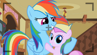 Rainbow Dash with Piña Colada S2E8