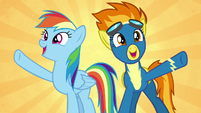 Rainbow and Spitfire --soaring higher!-- S6E7