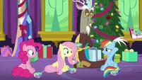 Rainbow tosses the Holly doll away MLPBGE