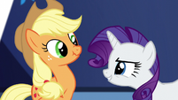 Rarity -you're absolutely right, dear- S5E3