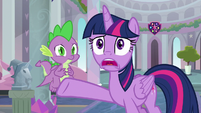 "Twilight Sparkle ""it's gone!"" S9E3"