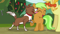 Winona licking the filly's face S3E08.png