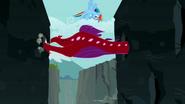 1000px-S2E07 Rainbow Dash flying around the Quarray eel