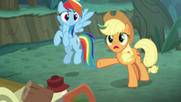 "Applejack ""what in the hay are you gonna do"" S8E13"