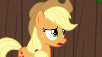 Applejack --is somethin' wrong, Apple Bloom--- S6E14
