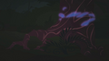 Blue mist seeping into a tree S1E02.png