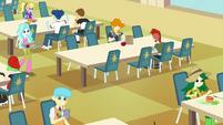 Canterlot High School cafeteria EG3