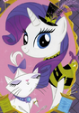 Comic issue 5 Rarity black and yellow