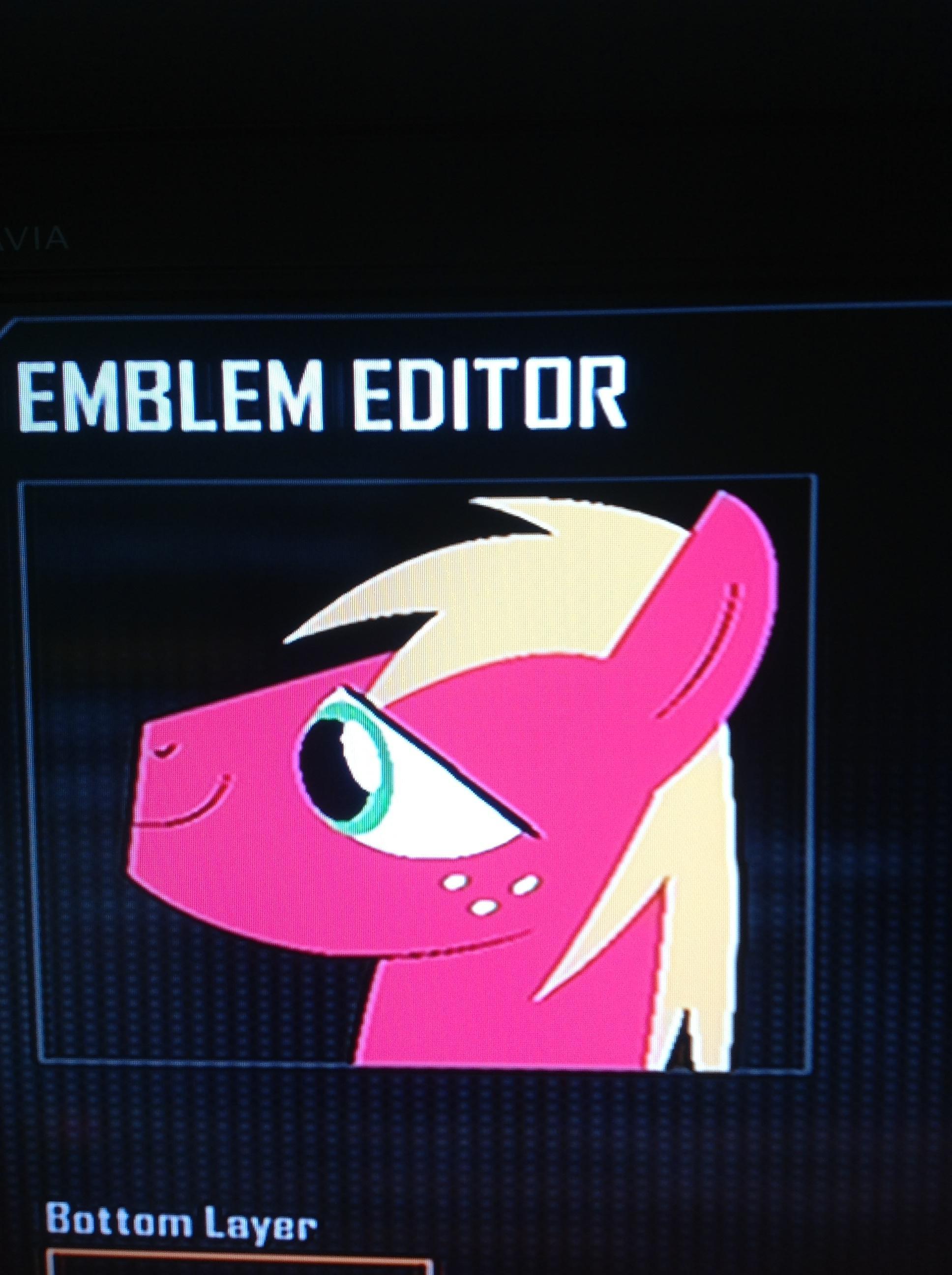 image fanmade big mcintosh black ops 2 emblem jpg my little pony