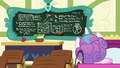Flurry Heart looking at the chalkboard S7E3.png