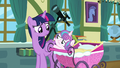 Flurry Heart reaching out to Twilight Sparkle S7E3.png