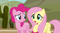 Fluttershy --I don't know how much practice you'll get-- S6E18