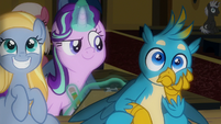 Gallus looking very surprised S9E20