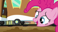 Pinkie -this is magical sand-colored snow- S5E11
