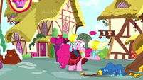 "Pinkie Pie ""it's just a silly instrument"" S8E18"
