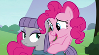 "Pinkie Pie ""what's his favorite color?"" S8E3"